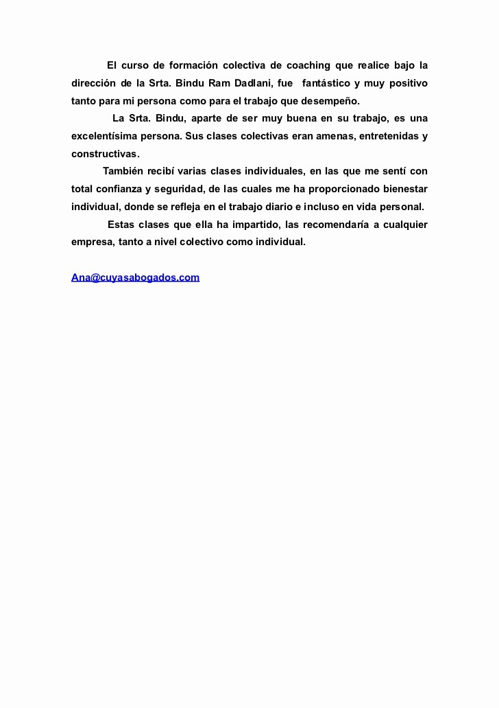 Carta De Recomendacion Para Estudiantes Best Of Carta De Re Endación De Ana