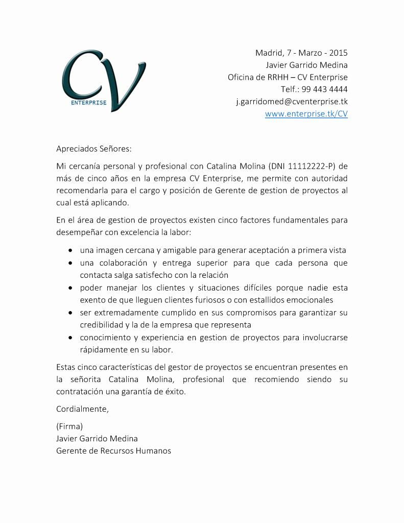 Carta De Recomendacion Para Universidad Inspirational ¿quién No Necesita Carta De Re Endación Currculum