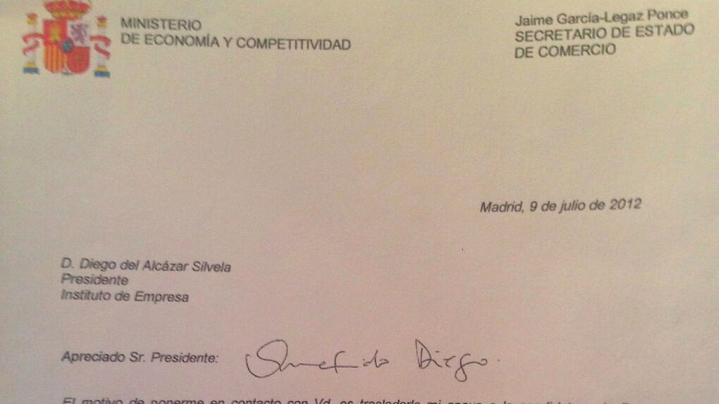 Carta De Recomendacion Para Universidad New Garca Legaz Firmó Una Carta Re Endando Al Pequeño