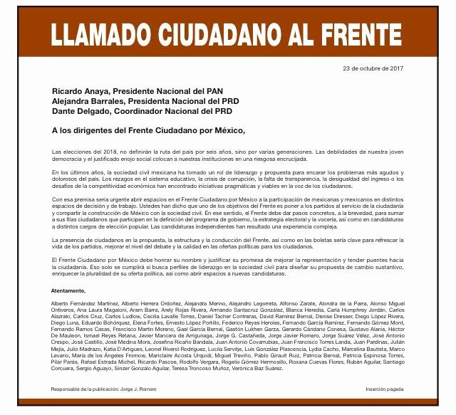 Carta Dirigida A Una Autoridad Best Of Integrantes Del Consejo De Mucd Firman Carta Dirigida Al