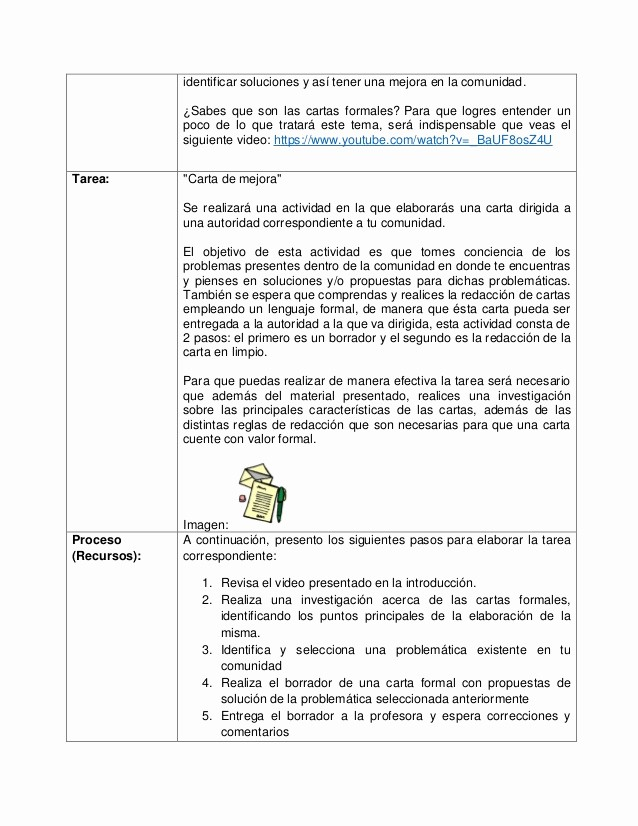 Carta Dirigida A Una Autoridad Best Of Webquest