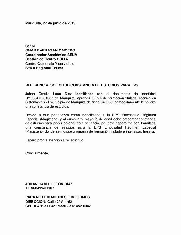 Carta Dirigida A Una Autoridad Luxury Carta De Petición
