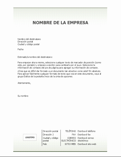 Carta Dirigida A Una Autoridad New Carta De Re Endacion