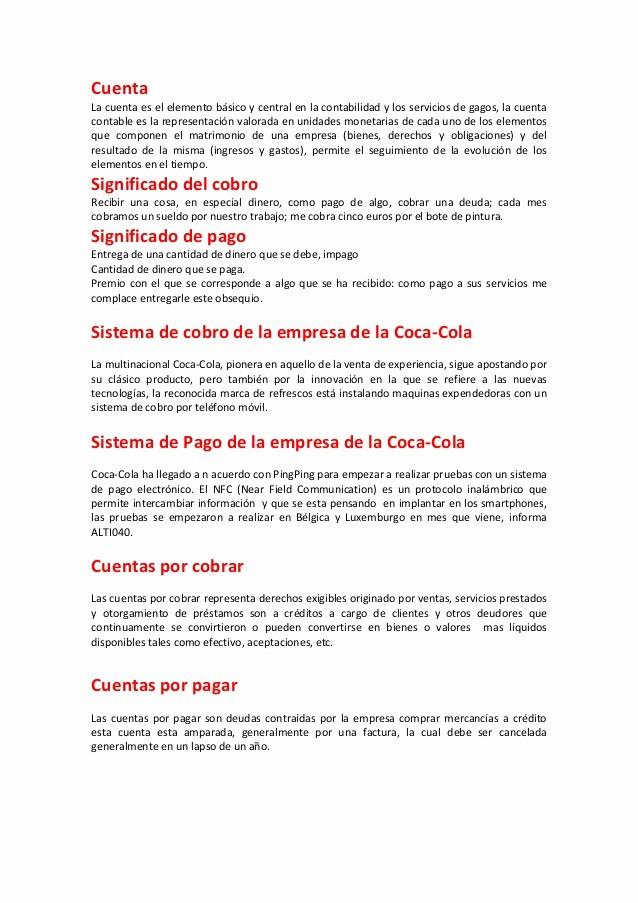 Carta Para Cobrar Una Deuda Beautiful Temas De Cobranza