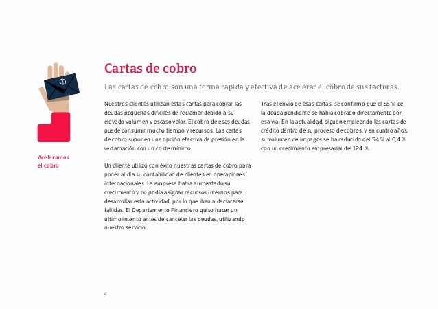 Carta Para Cobrar Una Deuda Lovely Presentacion atradius Collections Sl 2015