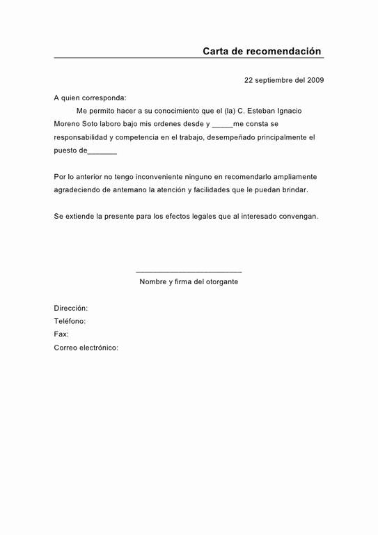 Cartas De Referencia De Trabajo Inspirational Cartas De Re Endación Cómo Hacerlas Y Modelos