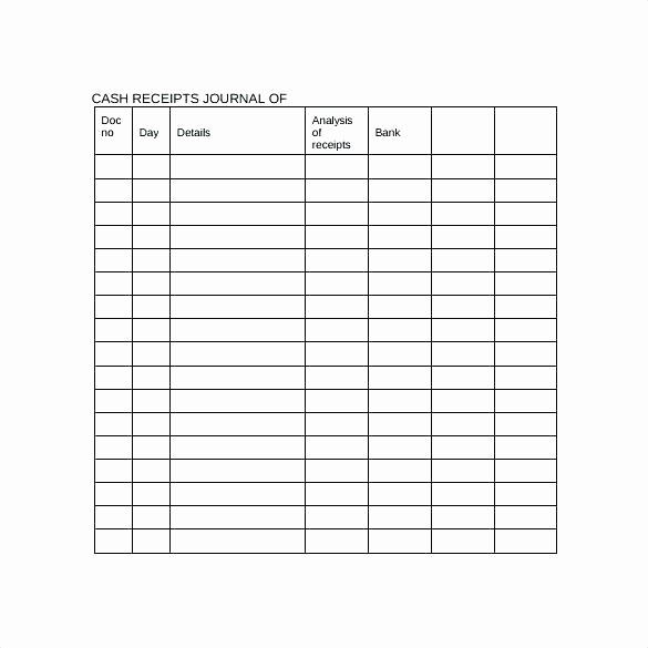 Cash Disbursement Journal Template Excel Best Of Petty Cash Log Template Free Download Receipt Journal