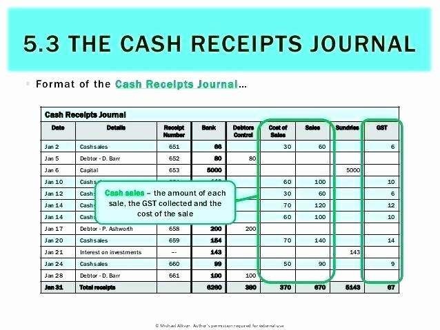 Cash Disbursement Journal Template Excel Fresh Cash Receipts and Disbursements Excel Template 24 Images