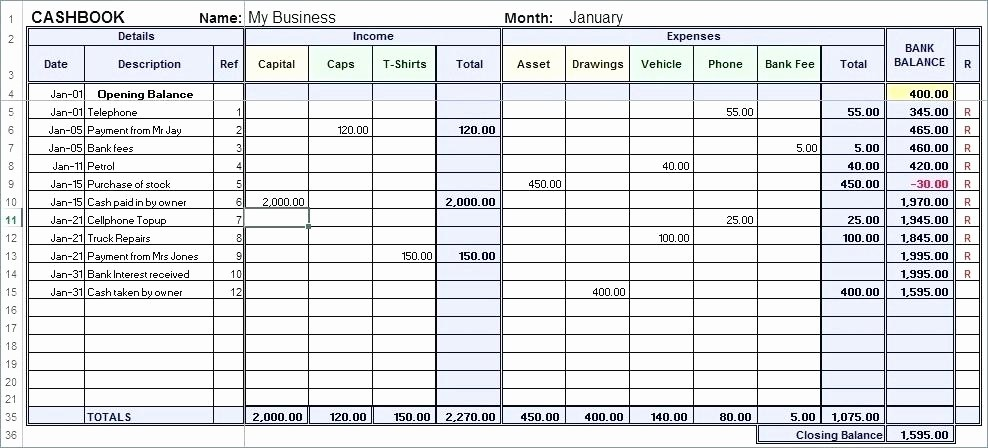 petty cash log template free receipt journal disbursements report