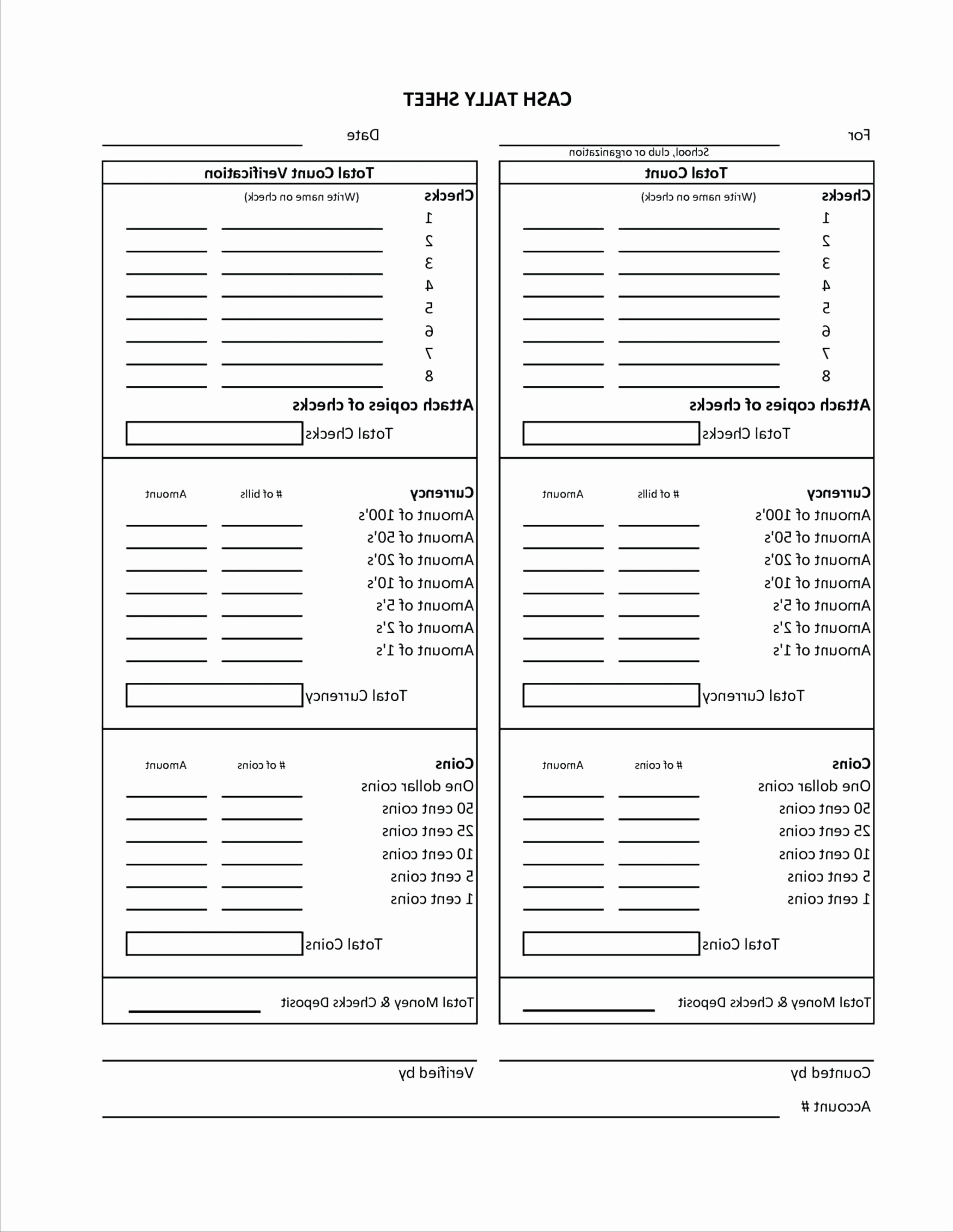 Cash Drawer Balance Sheet Template Elegant Template Daily Cash Sheet Template Excel