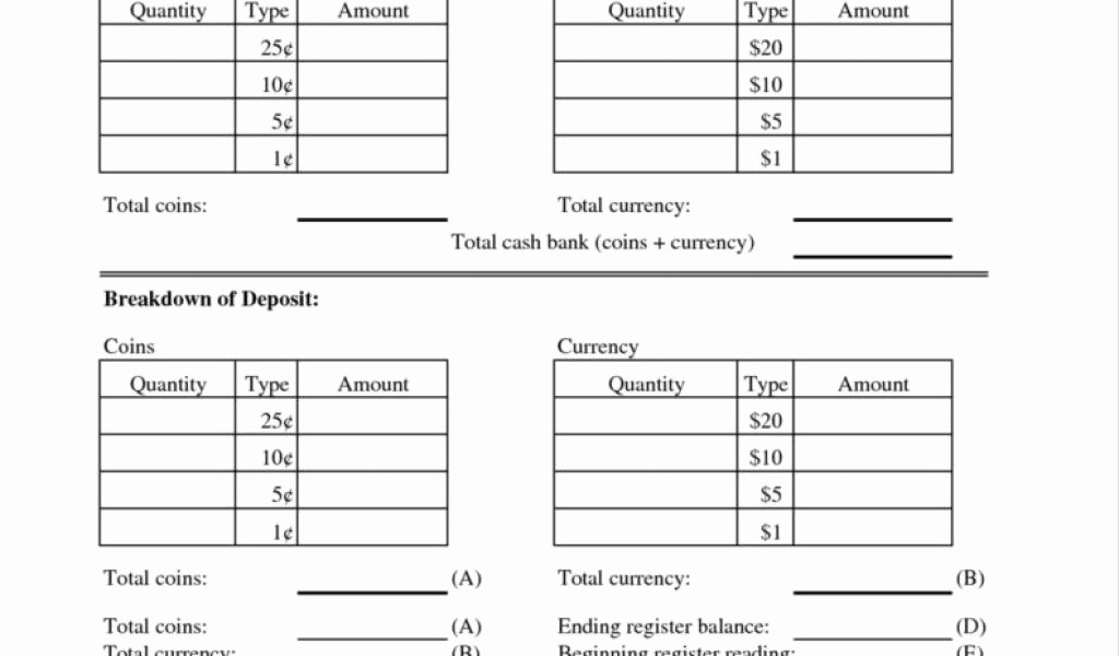 Cash Drawer Balance Sheet Template Inspirational Cash Drawer Balance Sheet Drawer Ideas for Your Home