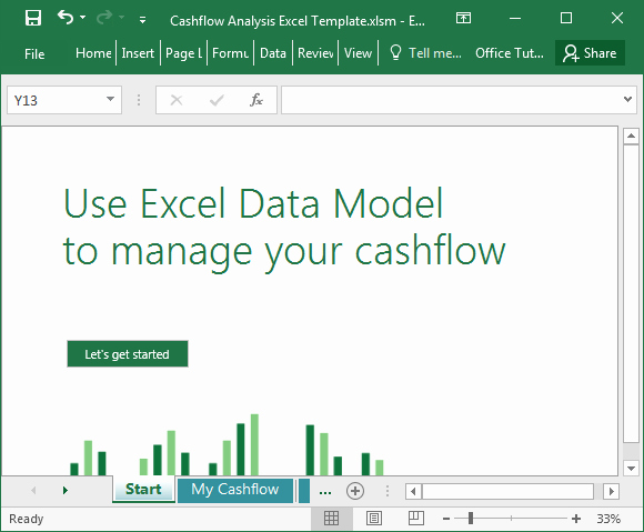 Cash Flow Analysis Example Excel Beautiful Cashflow Analysis Excel Template