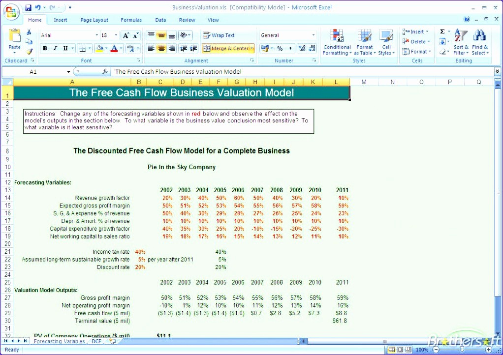 Cash Flow Analysis Example Excel Best Of 11 Cash Flow Analysis Excel Template Exceltemplates