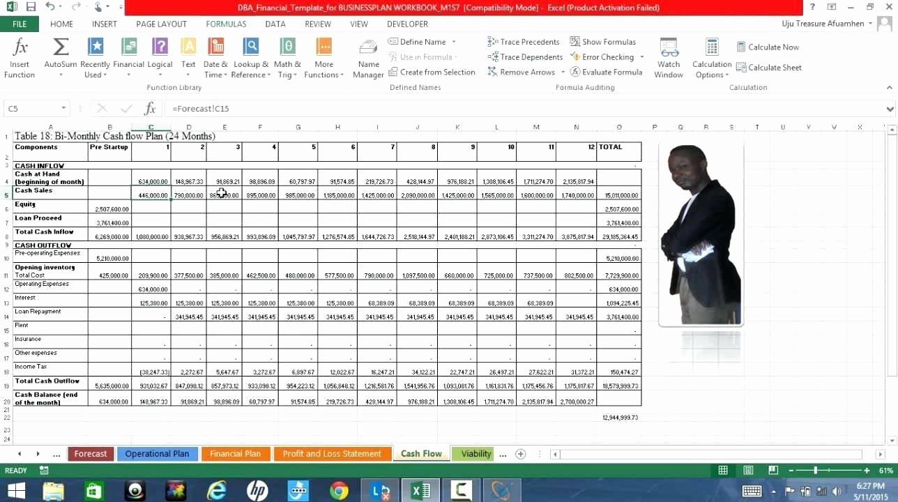 Cash Flow Analysis Example Excel Elegant Template Cash Flow Analysis Template Excel