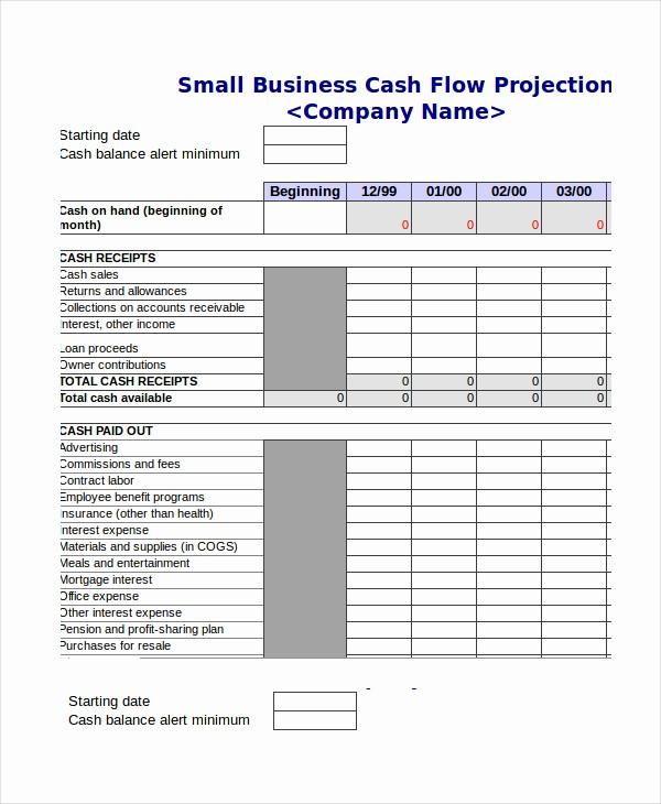 Cash Flow Budget Template Excel New Cash Bud Template