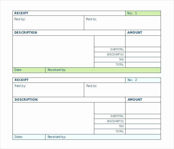Cash Receipt format In Excel Beautiful Cash Receipt format In Template Excel Payment Word Petty