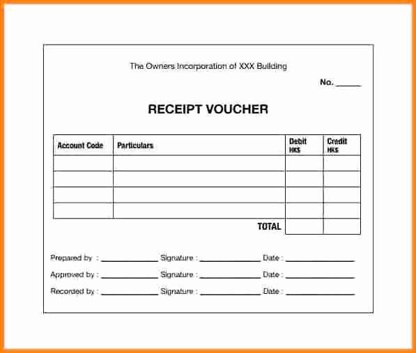 Cash Receipt format In Excel Lovely 7 Cash Payment Voucher format In Word