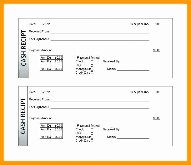 Cash Receipt format In Excel Lovely Cash Receipt Template Excel – Arbitra Radingbondub
