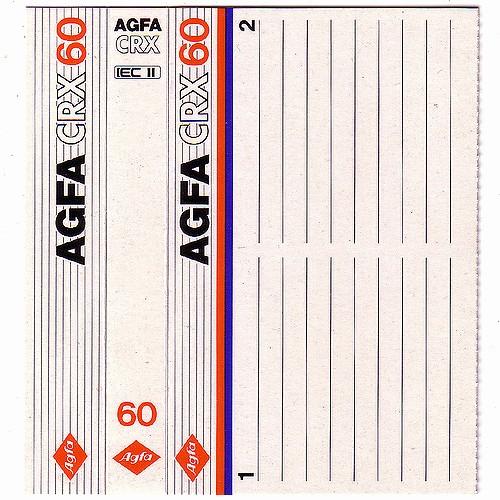 Cassette Tape J Card Template Beautiful Agfa Bruce Jamieson