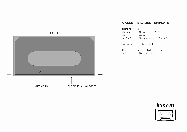 Cassette Tape J Card Template Lovely Cassette J Card Template Gallery Template Design Ideas
