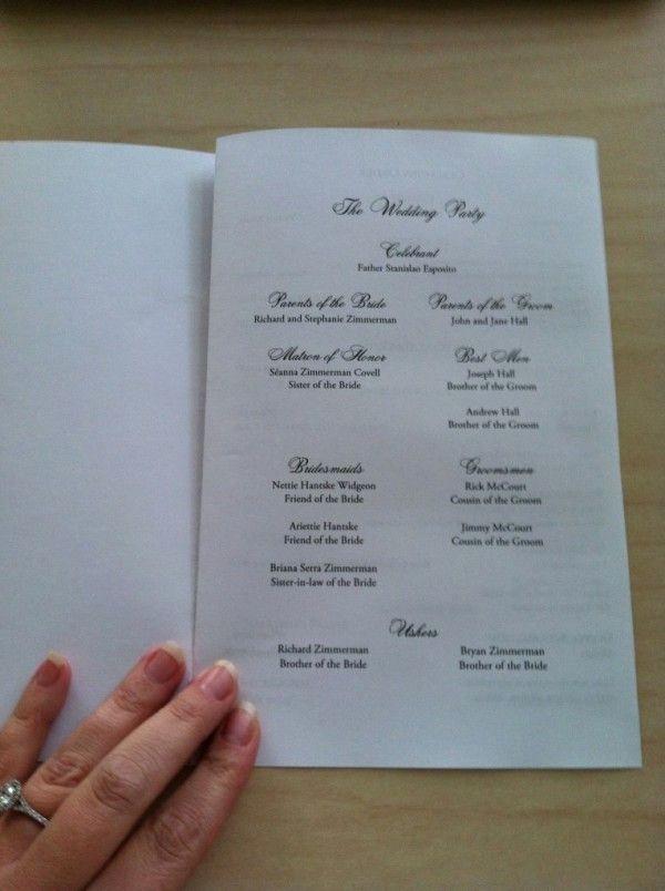 Catholic Wedding Program Template Free Awesome 25 Best Ideas About Catholic Wedding Programs On