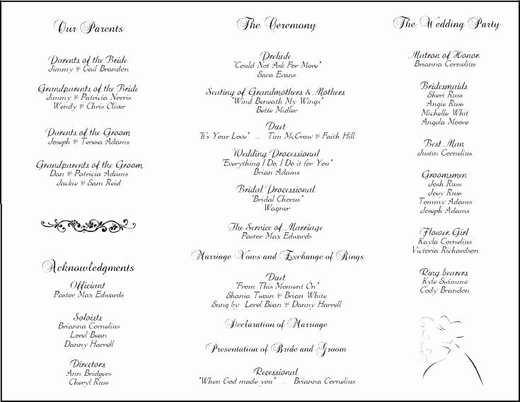 Catholic Wedding Program Template Free Beautiful Catholic Wedding Ceremony Template Image Via Me Catholic