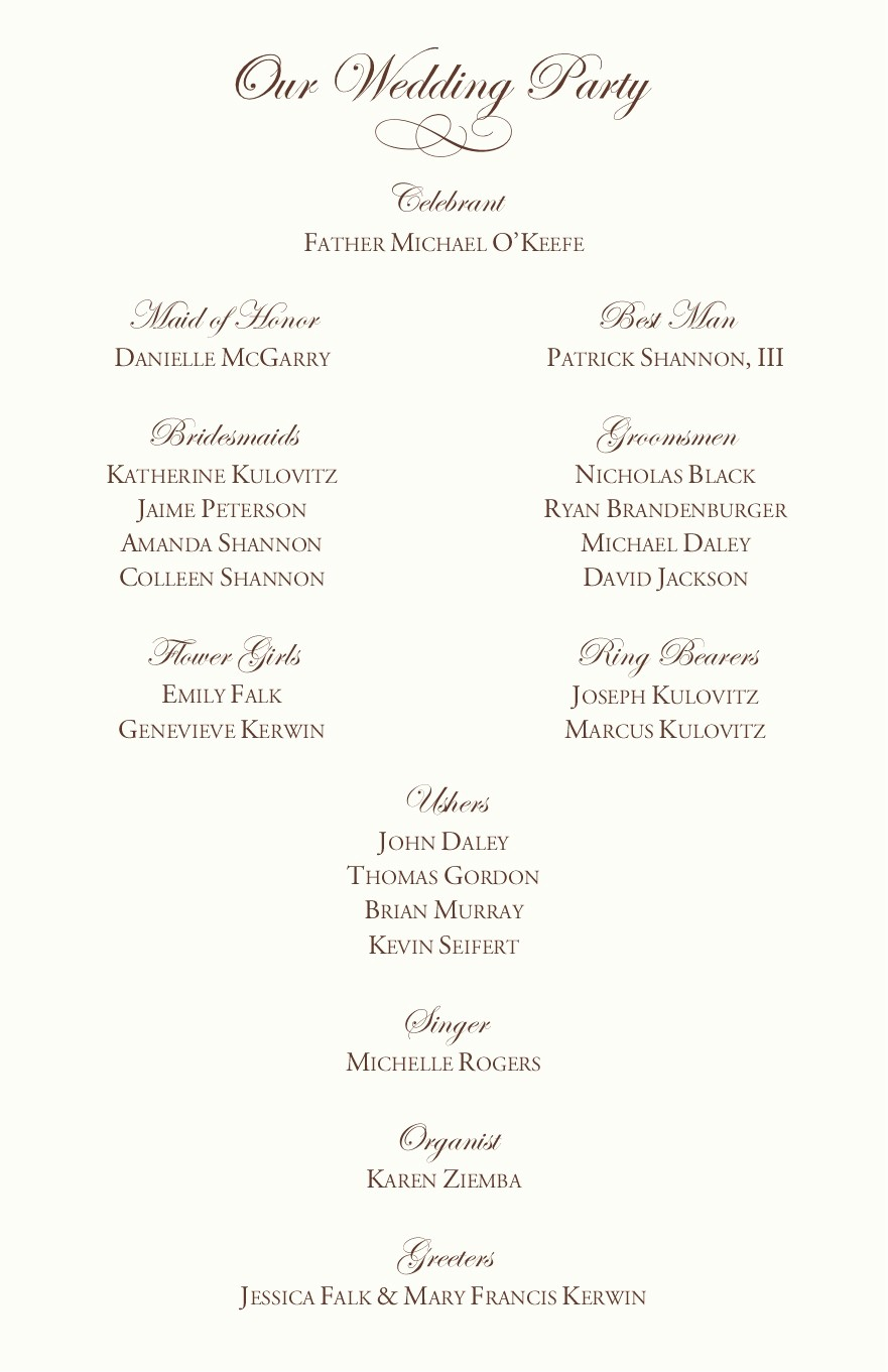 Catholic Wedding Program Template Free Inspirational Catholic Wedding Program Examples by Jrnwecordia On Deviantart