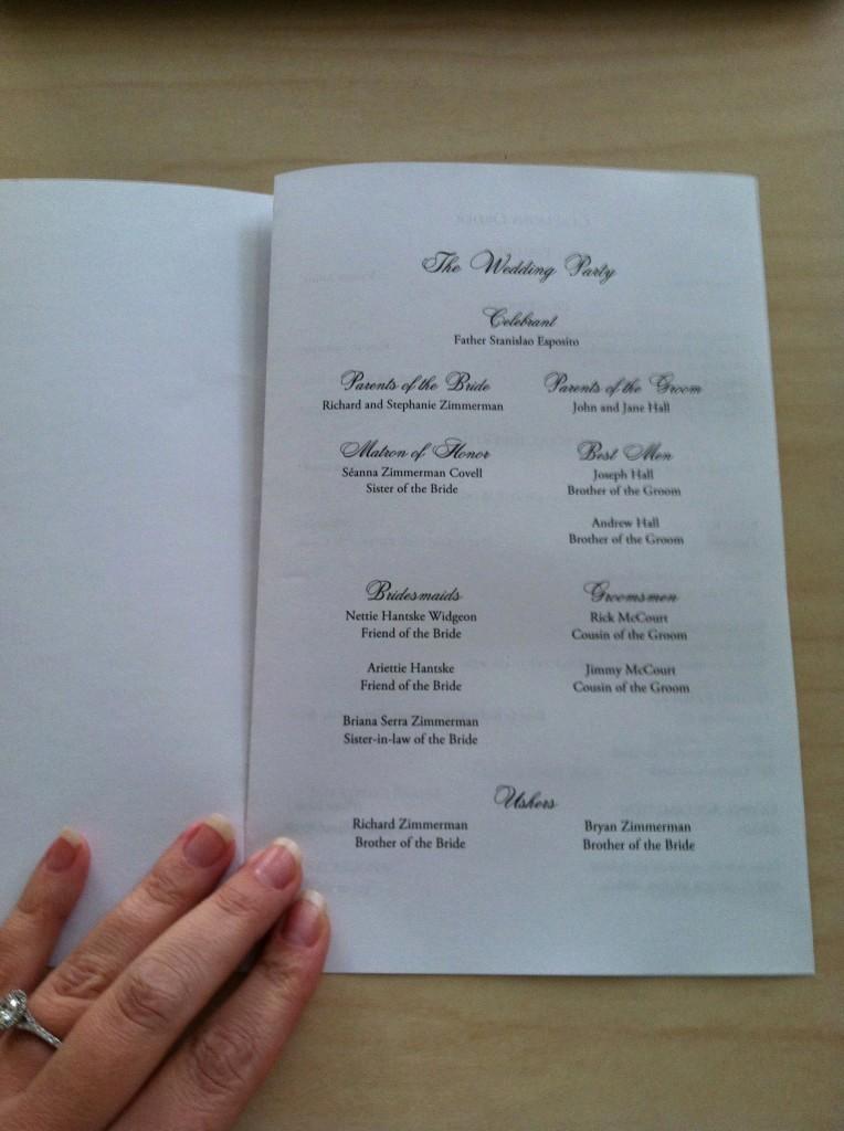 Catholic Wedding Program Template Free Lovely Free Catholic Wedding Program Template