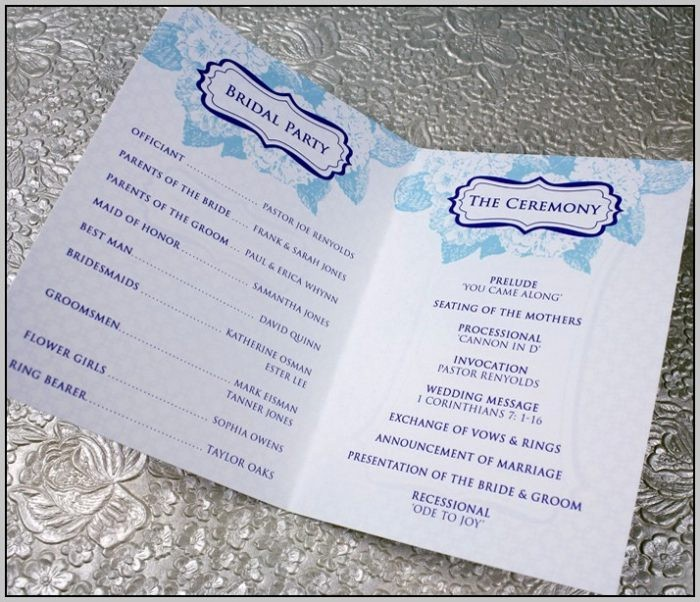 Catholic Wedding Program Templates Free Best Of Catholic Wedding Program Template Free Template Resume