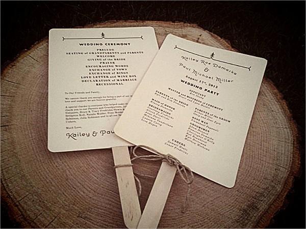 Catholic Wedding Program Templates Free New Free Wedding Program Templates 9 Free Psd Vector Ai