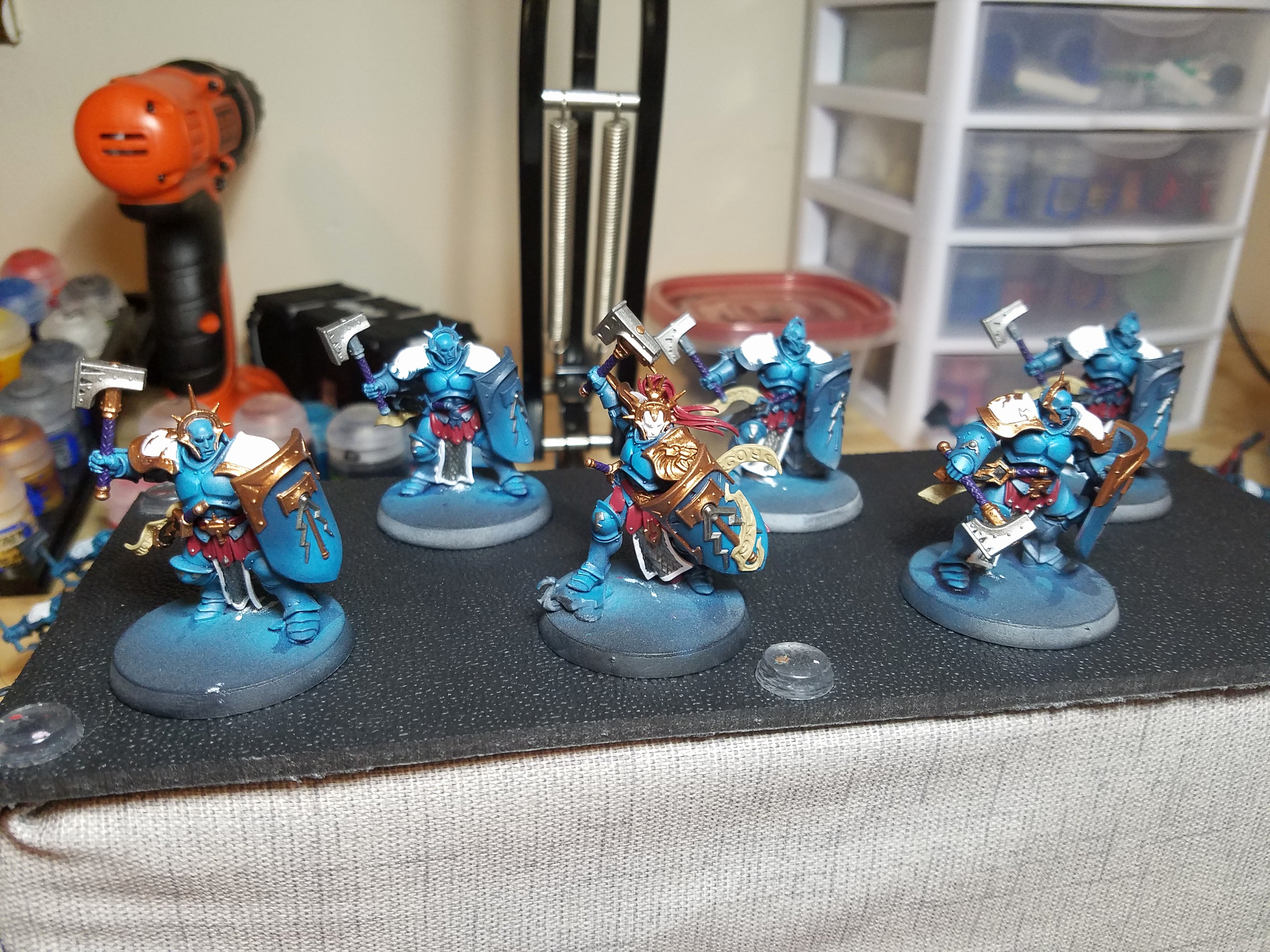 Celestial theme for Word 2016 Awesome Wip Stormcast Eternals Age Of Sigmar Starter Set Update