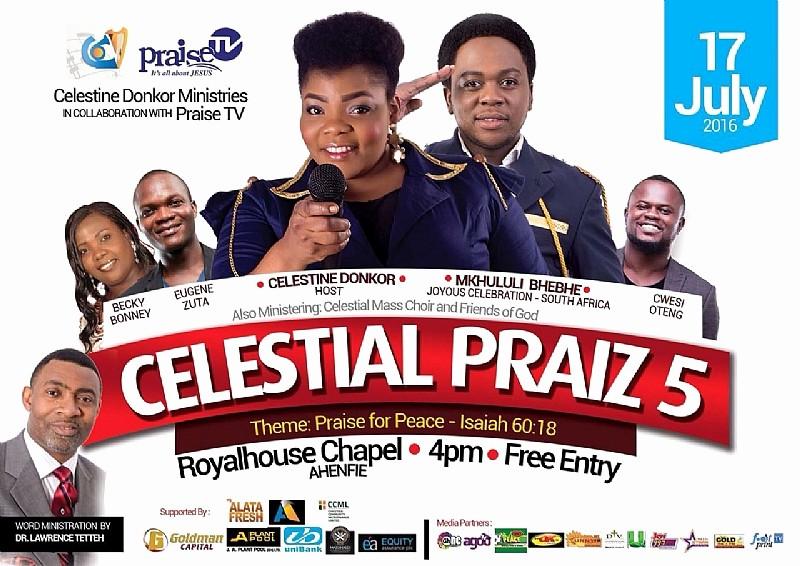 Celestial theme for Word 2016 Elegant Watch Out 2016 Celestial Praiz to Feature Mkhululi Bhebhe