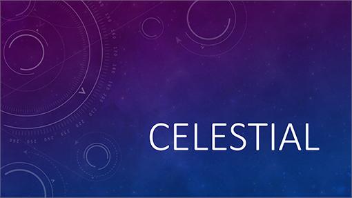 Celestial theme for Word 2016 New Celestial