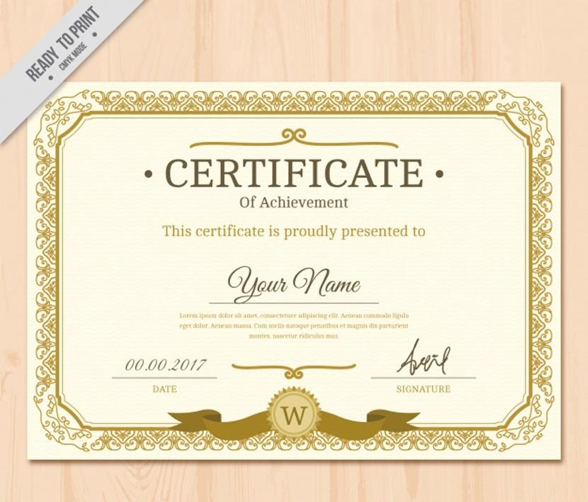 Certificado De Agradecimiento Y Apreciacion Best Of 37 Plantillas Para Diplomas Y Certificados Pletamente