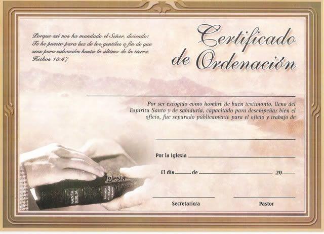 Certificado De Agradecimiento Y Apreciacion Inspirational Diplomas Y O Certificados Cristianos