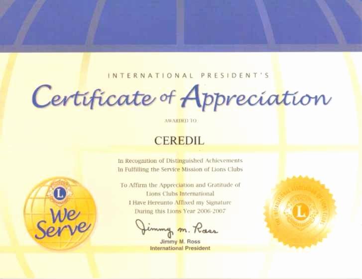 certificado de agradecimiento y apreciacion paq 15 unidades senda