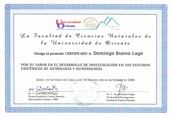 Certificado De Agradecimiento Y Apreciacion Unique Afro Cuba Net
