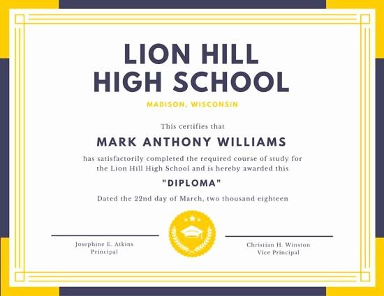 Certificados De Reconocimiento Para Editar Lovely Platillas Para Certificados Canva