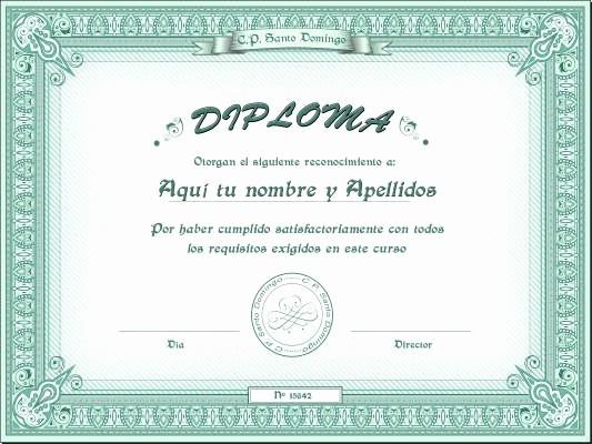 Certificados De Reconocimiento Para Editar Luxury Certificados Y Diplomas Para Editar E Imprimir Recursos