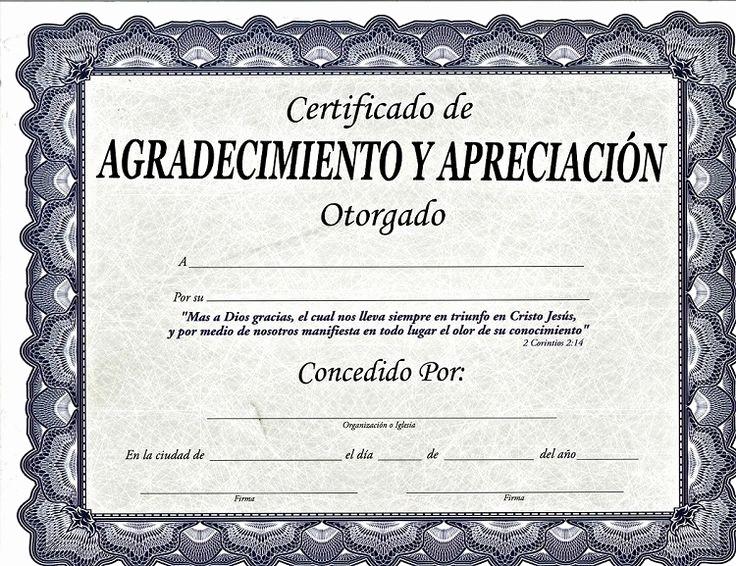 Certificados De Reconocimiento Para Editar Unique Más De 25 Ideas Increbles sobre Diplomas De