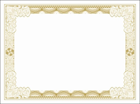 Certificate Background Design Free Download Beautiful Blank Certificates