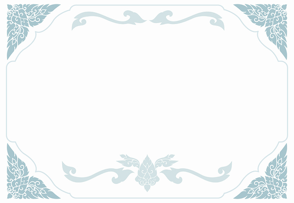 Certificate Background Design Free Download Beautiful Blue and White Certificate Template Png Image