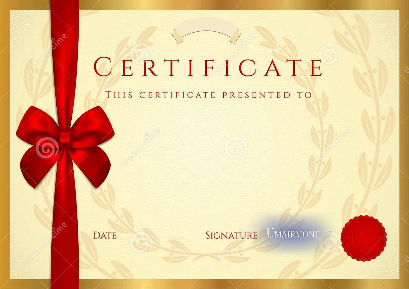 Certificate Background Design Free Download Beautiful Certificate Diploma Elegant Template Vector Free Download
