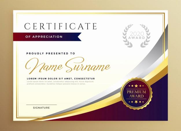 Certificate Background Design Free Download Beautiful Fondo Reconocimiento
