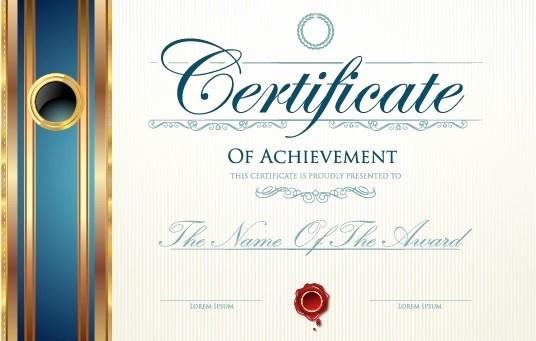 Certificate Background Design Free Download Best Of Modern Certificate Design Free Vector 6 755 Free