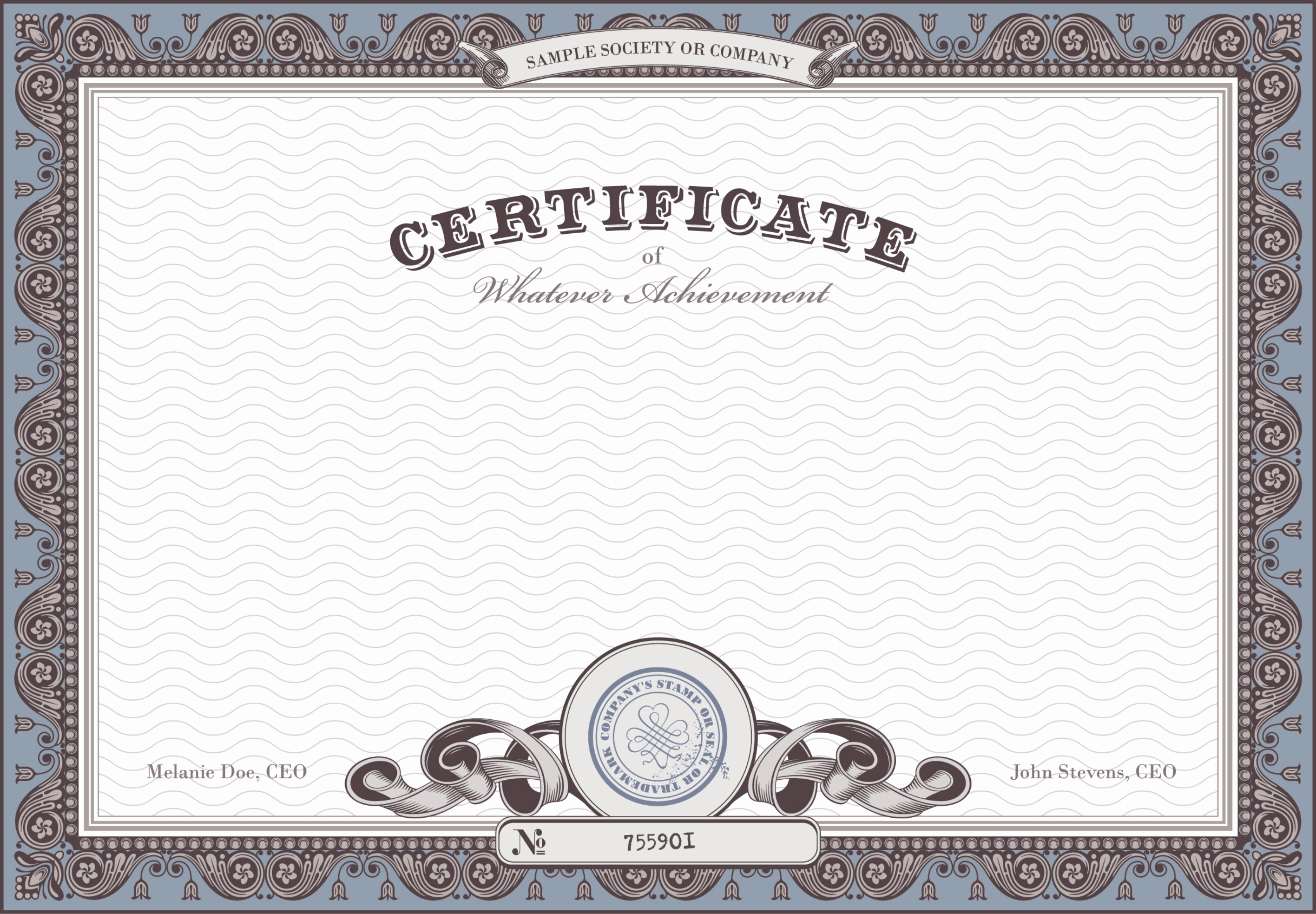 Certificate Background Design Free Download Fresh Certificate Background Material Pattern Honor Certificate