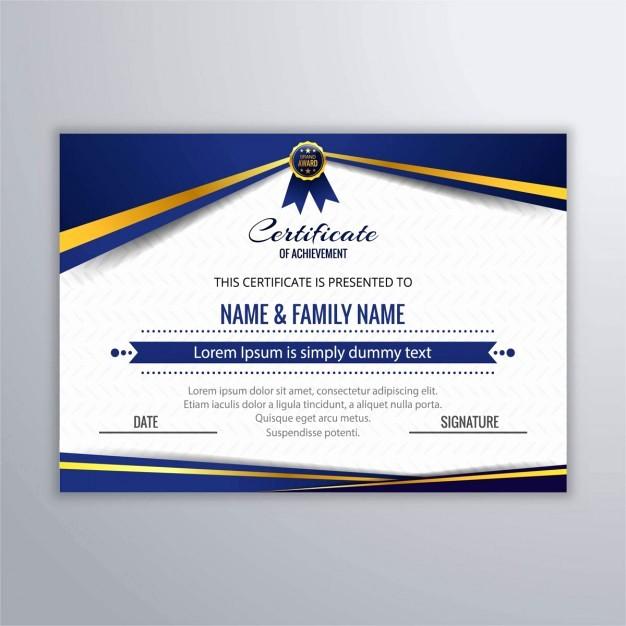 Certificate Background Design Free Download Luxury Colorful Certificate Background Vector