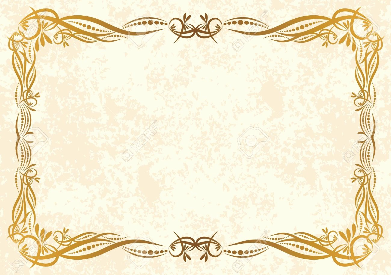 Certificate Background Design Free Download Luxury Printable Vintage Background—frame Certificate