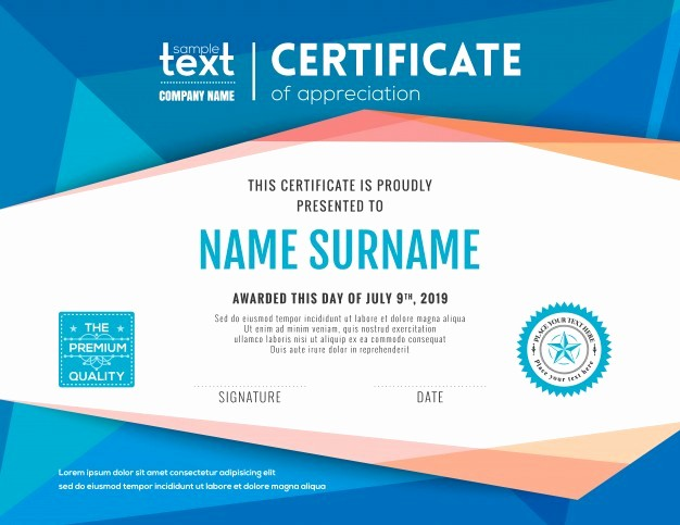Certificate Background Design Free Download New Certificate Border Vectors S and Psd Files