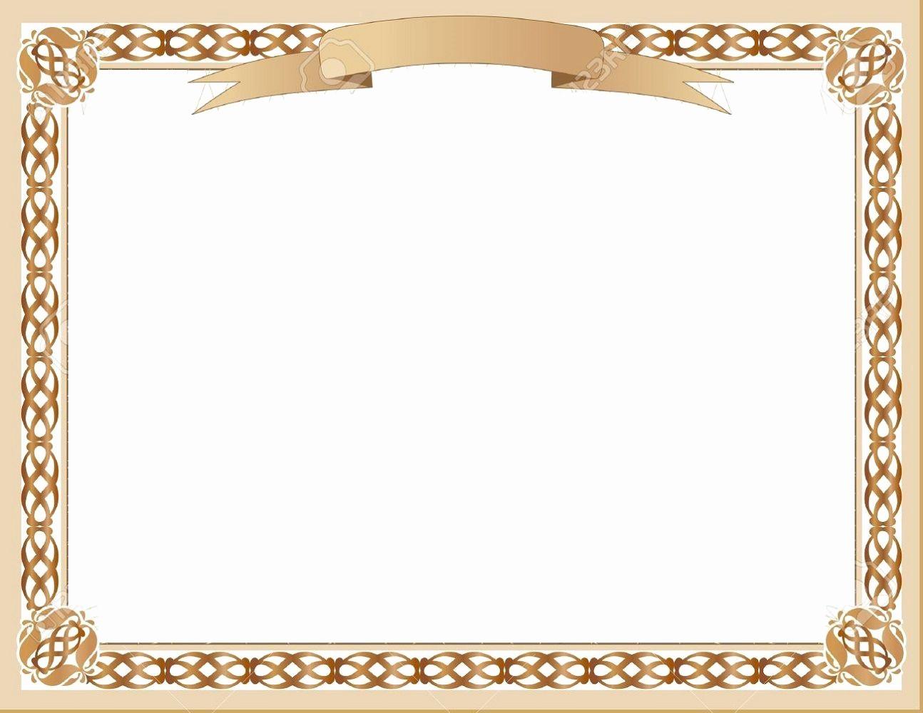 Certificate Background Design Free Download Unique Blank Certificate Designs Template Border Design